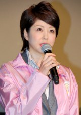 映画『サラリーマンNEO 劇場版(笑)』舞台あいさつに登壇した堀内敬子 (C)ORICON DD inc.