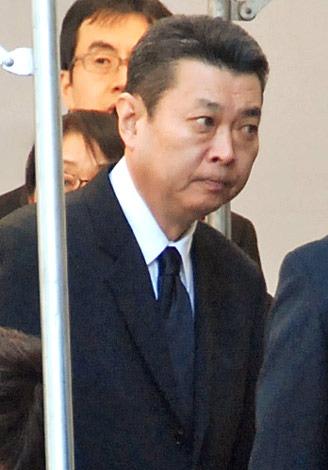 歌舞伎俳優・中村芝翫さんの葬儀告別式に参列した、江川卓 (C)ORICON DD inc.