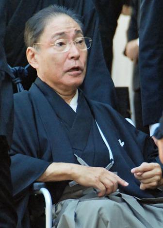 歌舞伎俳優・中村芝翫さんの葬儀告別式に参列した、市川猿之助 (C)ORICON DD inc.