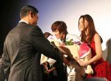 『第24回東京国際映画祭』で上映された、映画『明日に架ける愛』舞台あいさつに登壇した市井紗耶香 (C)ORICON DD inc.