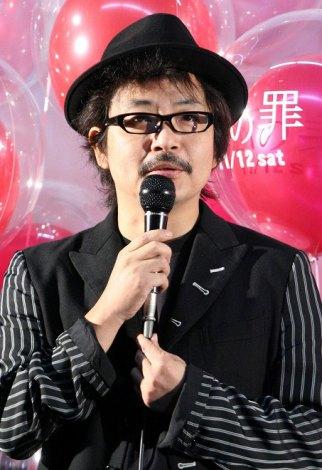 映画『恋の罪』の完成披露報告会に出席した園子温監督 (C)ORICON DD inc.