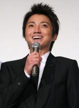 映画『カイジ2 人生奪回ゲーム』初日舞台あいさつに登壇した藤原竜也(C)ORICON DD inc.