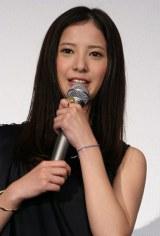 映画『カイジ2 人生奪回ゲーム』初日舞台あいさつに登壇した吉高由里子(C)ORICON DD inc.