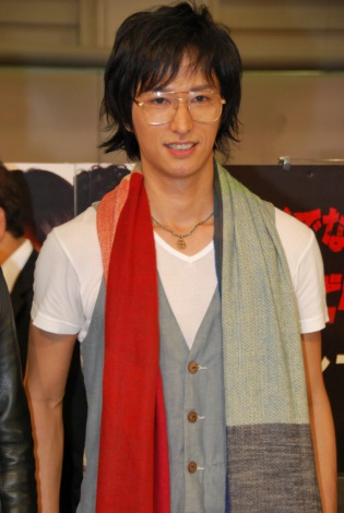 ドラマ『ろくでなしBLUES』DVD発売記念イベントに出席した、劇団EXILEの秋山真太郎 (C)ORICON DD inc.