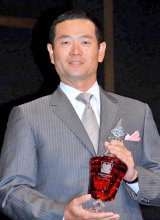 『WHISKY LOVERS AWARD 2011』の「Best Whisky Lover」に選ばれた桑田真澄氏 (C)ORICON DD inc.