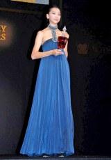 『WHISKY LOVERS AWARD 2011』の「Best Whisky Lover」に選ばれた杏 (C)ORICON DD inc.