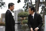 TBS系の年末ドラマスペシャル『帰郷』で40年ぶりに共演する(左から)渡哲也、渡瀬恒彦
