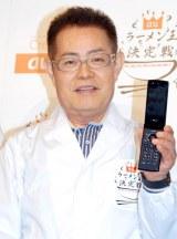 auのキャンペーン『ラーメン王決定戦』PRイベントに出席した加藤茶の左手薬指には指輪がキラリ (C)ORICON DD inc.
