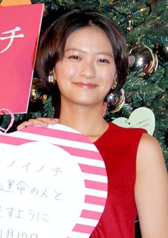 映画『アントキノイノチ』のラブレターツリー設置セレモニーに出席した榮倉奈々 (C)ORICON DD inc.