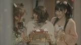 友達篇CMカット(左から高橋みなみ、大島優子、渡辺麻友)