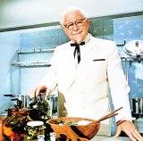 40年前に書かれた未出版の自伝が見つかった、KFC創業者のカーネル・サンダース氏(写真提供:日本ケンタッキー・フライド・チキン)