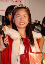 グランプリを受賞した大阪府出身の14歳・小芝風花さん (C)ORICON DD inc.