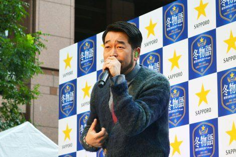 新CMソング「冬がはじまるよ2012」を披露した槇原敬之