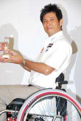 『プラチナアワード2011』授与式に出席したレーサーの青木拓磨氏 (C)ORICON DD inc.