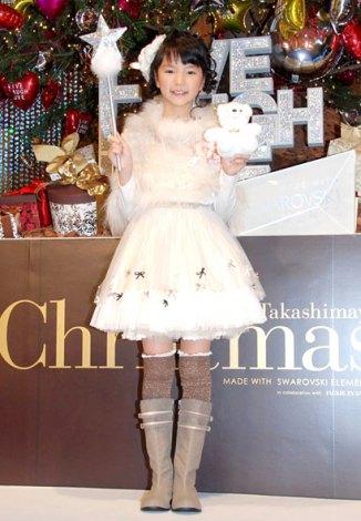 2011 Takashimaya Christmas『クリスタルツリー』お披露目イベントに出席した大橋のぞみ (C)ORICON DD inc.