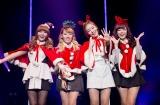 Secret、サンタ姿で新作発売記念ライブ開催