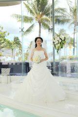 華麗な花嫁姿