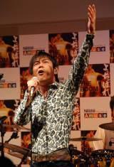 """THE BOOM、23年ぶり原宿で""""凱旋""""ライブ"""