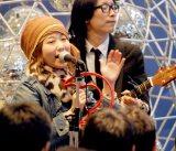PEACE$TONEが渋谷でデビューアルバム「ダブル・ファンタジー」発売イベントを実施※ボーカルのasuka (C)ORICON DD inc.