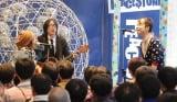 PEACE$TONEが渋谷でデビューアルバム「ダブル・ファンタジー」発売イベントを実施 (C)ORICON DD inc.