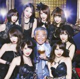 SDN48の4thシングル「口説きながら麻布十番〜」は、みのもんた(中央)とのデュエットソング