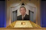 藤田さんの遺影が飾られた献花台 (C)ORICON DD inc.
