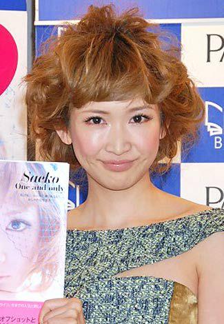 初のスタイル本『Saeko One and only』(集英社)の刊行記念イベントを行った紗栄子 (C)ORICON DD inc.