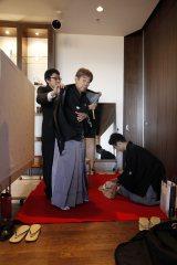【場面写真】急きょ決定したドキュメンタリー番組『情熱大陸』の「緊急追悼企画・立川談志」(MBS・TBS系)より