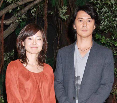 NHKのドキュメンタリー『ホットスポット 最後の楽園』のスペシャル番組収録を行った、福山雅治(右)と有働由美子アナウンサー (C)ORICON DD inc.
