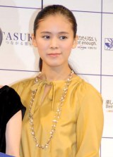 BS民放5局共同特別番組『TASUKI・つながる想い』制作発表会に出席した手嶌葵 (C)ORICON DD inc.