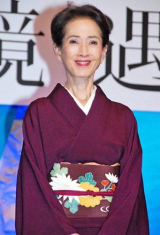ABC創立60周年記念スペシャルドラマ『境遇』(ABC・テレビ朝日系)の制作発表記者会見に出席した、いしだあゆみ