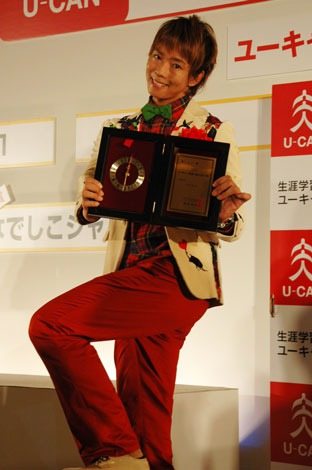 『2011年ユーキャン新語・流行語大賞』発表・授賞式に出席した楽しんご (C)ORICON DD inc.