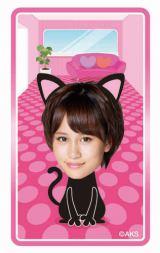 """AKB48のメンバーが猫に扮したキャラクターと遊べるデジタルコンテンツ""""デジタルニャンダフル""""イメージ画像"""