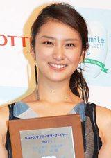 「女優部門」の2位には、武井咲が選ばれた (C)ORICON DD inc.