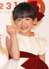 """2011年『""""ブレイク女優""""ランキング』、1位に選ばれた芦田愛菜 (C)ORICON DD inc."""