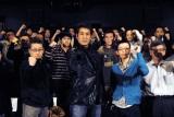 映画『ワイルド7』男子限定特別試写会に出席した宇梶剛士(中央)