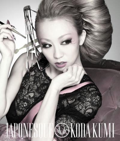 倖田來未オリジナルアルバム『JAPONESQUE』(2012年2月1日発売/CD)