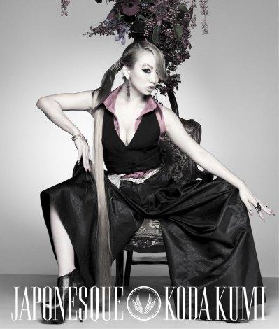 倖田來未オリジナルアルバム『JAPONESQUE』(2012年2月1日発売/CD+DVD)