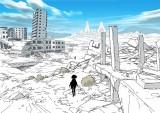 破壊された街 (C)AKB0048製作委員会