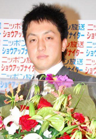 『ニッポン放送 ショウアップナイターCONFERENCE 2012』に出席した澤村拓一投手 (C)ORICON DD inc.