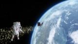 【CMカット】宇宙遊泳中にサンタと遭遇するお父さん(ソフトバンク白戸家CM『宇宙』シリーズ「宇宙のサンタ」篇より)