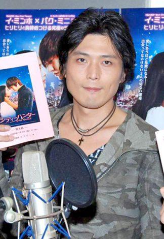 ブルーレイ&DVD『シティハンター in Seoul』のアフレコを行った高橋広樹 (C)ORICON DD inc.
