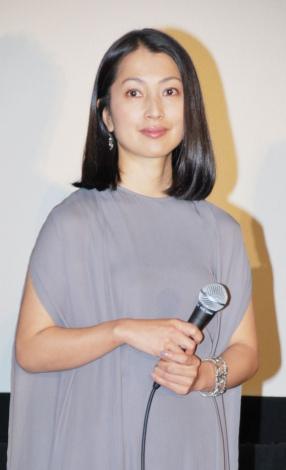 映画『カルテット!』先行初日舞台あいさつに出席した鶴田真由 (C)ORICON DD inc.