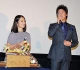 映画『カルテット!』で夫婦役を共演した(左から)鶴田真由、細川茂樹 (C)ORICON DD inc.