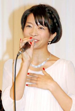 昼ドラ『鈴子の恋』の制作発表会見に出席した三倉佳奈 (C)ORICON DD inc.