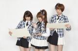 感慨深げに1年の活動を振り返るAKB48のメンバー(写真左から:大島優子、高橋みなみ、篠田麻里子) (C)ORICON inc.