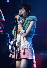 『AKB48紅白対抗歌合戦』でステージデビューした13期研究生・光宗薫(18) (C)ORICON DD inc.