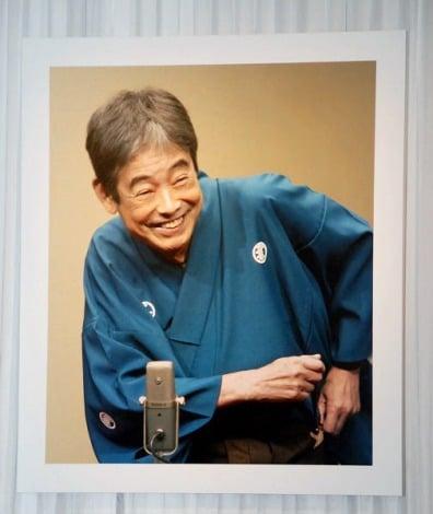 11月21日に喉頭がんで死去した立川談志さんの遺影 (C)ORICON DD inc.
