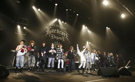 人気V系バンド3組が出演したライブイベント『REAL KINGDOM』