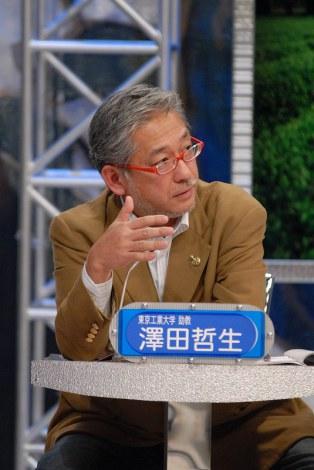 『ビートたけしのガチバトル2011』(28日放送 後9:00)にパネリストとして出演する澤田哲生氏(東京工業大学助教授)(C)MBS・TBS系